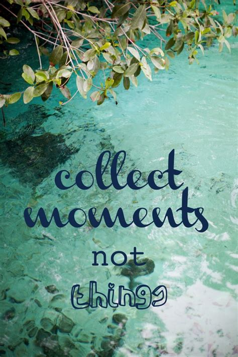 collect moments not things this little street this