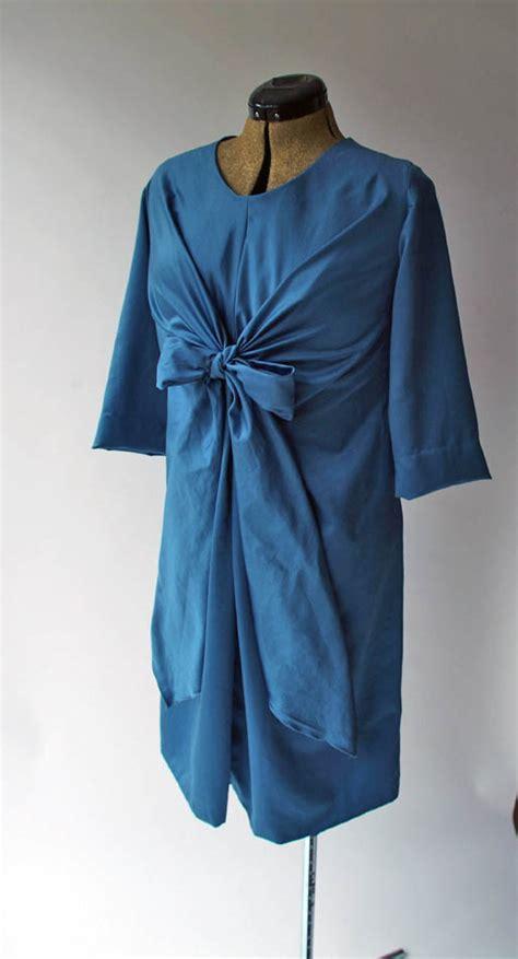 pattern magic dress pattern magic knot dress 2 sewing projects burdastyle com