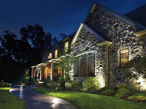 Kichler Lighting Kichler Led Landscape Lighting Make Your How To Place Landscape Lighting