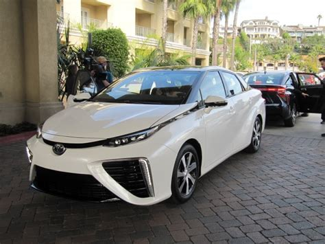 Toyota Fuel Cell Vehicle 2016 Toyota Mirai Hydrogen Fuel Cell Car A Few Things We