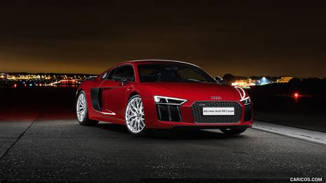 2016 audi r8 wallpaper 2016 audi r8 v10 plus coupe uk spec red front hd