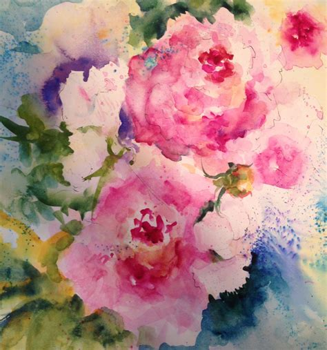 watercolor tattoo peony watercolor wanderings peony time