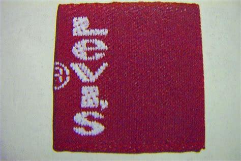 Stiker Levi S vintage levi s guide tab