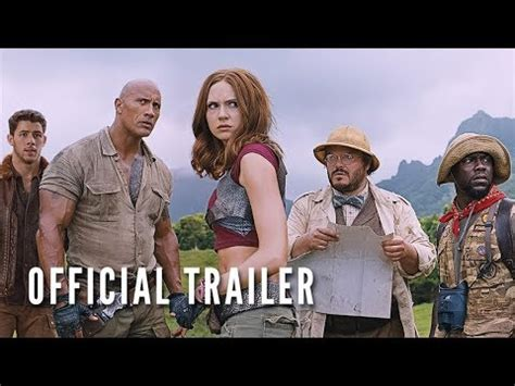jumanji movie mistakes jumanji welcome to the jungle official trailer youtube