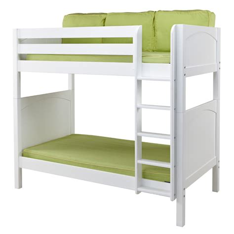High Bunk Bed Tall Panel High Bunk Bed Rosenberryrooms Com