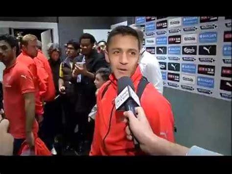 alexis sanchez youtube channel esclusiva udinese channel il saluto di alexis sanchez ai