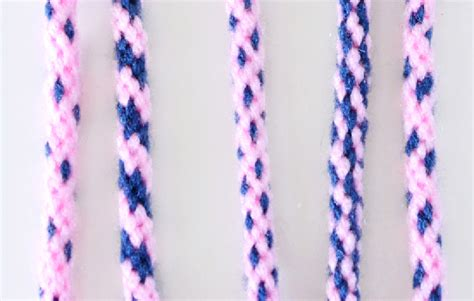 Braiding Cord Patterns - 8 strand kumihimo patterns by color placement a