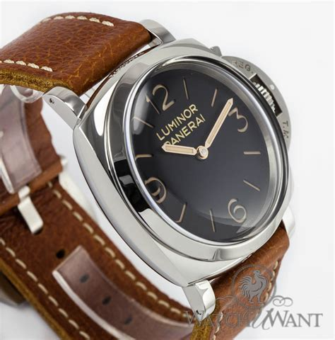 Panerai Luminor Panerai Pam372 47mm N sold listing panerai pam 372 manifattura luminor 1950 3 day power reserve 47mm stainless
