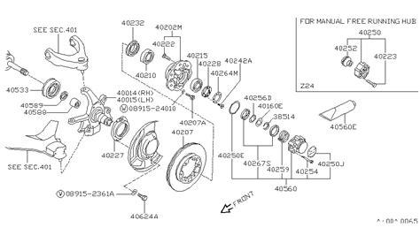 1995 nissan pathfinder front diagram nissan auto parts