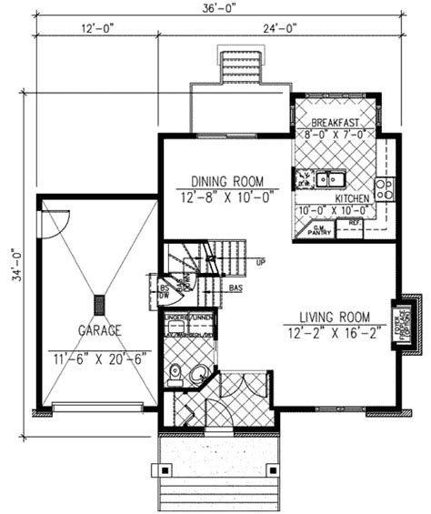 floorplan main line mini mini modern 90161pd architectural designs house plans