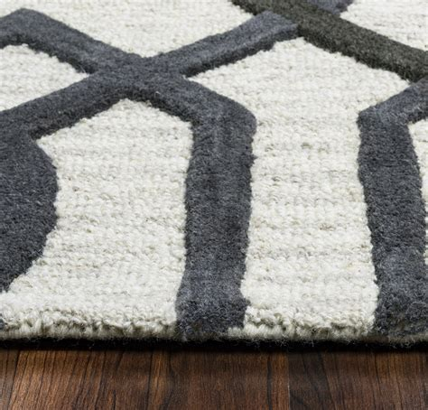 10 x 14 grey wool rug caterine imperial trellis wool area rug in grey