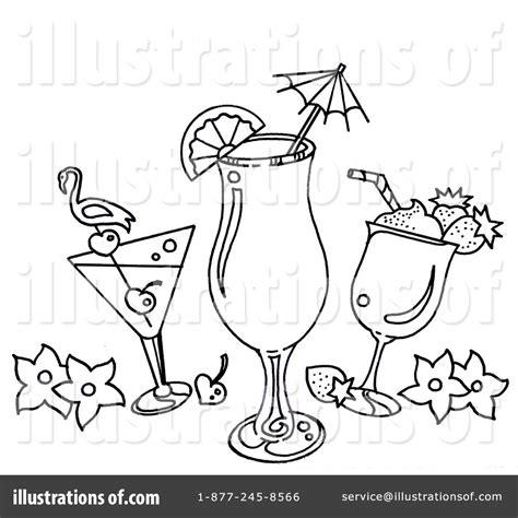 mixed drink clipart black and white cocktails clipart 1108886 illustration by loopyland