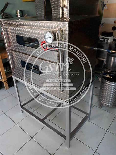 Rak Roti Stainless mesin oven roti 2 rak stainless steel toko alat mesin usaha