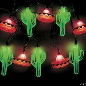 mexican string lights cactus and sombrero lights the best house in the