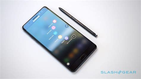 samsung note 9 samsung galaxy note 7 review the best android of 2016 slashgear