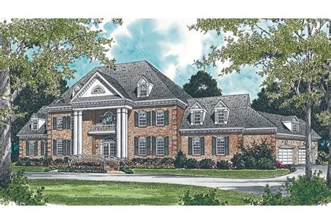 17 Best Images About Georgian House Plans On Pinterest House Plans With Large Columns