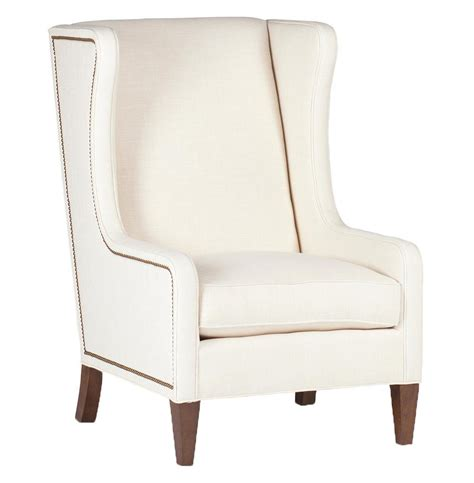 ivory armchair reagan hollywood regency ivory wing back arm chair kathy kuo home