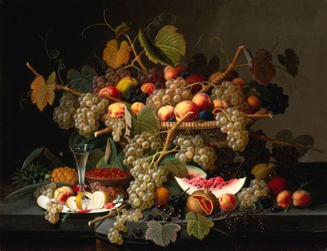 Rachel Parcell File Severin Roesen Still Life With Fruit Google Art