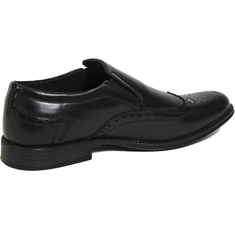 wing loafers alpine swiss basel s wing tip dress shoes brogue