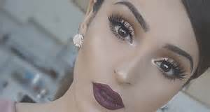 how to apply false lashes quinceanera makeup tutorial
