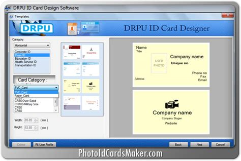 student id card maker software for mac design student id card screenshots of id cards maker software to make identity