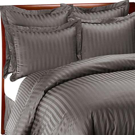 wamsutta damask comforter wamsutta 174 500 damask duvet cover set in charcoal bed