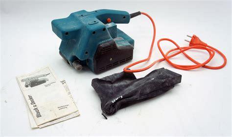 black und decker stichsäge black und decker bandschleifer dn 83e 500 watt in