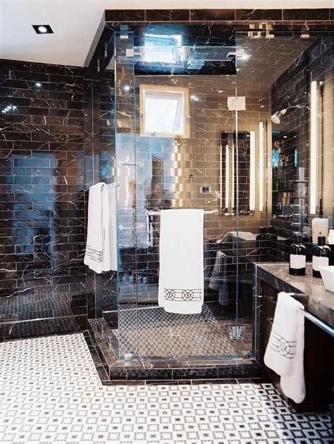how to shine bathroom tiles 31 shiny black bathroom tiles ideas and pictures