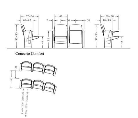 poltrone teatro dwg concerto siller 237 a para teatros de ares line architonic