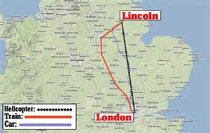 distance as the flies cameron spends thousands of taxpayers on 140 mile