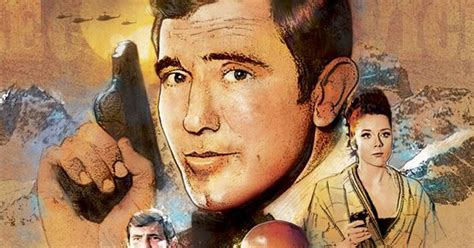 slip into something more comfortable james bond george lazenby as james bond my illustrations