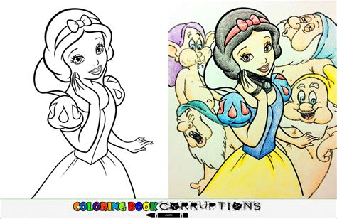 coloring book corruptions disney coloring book corruptions