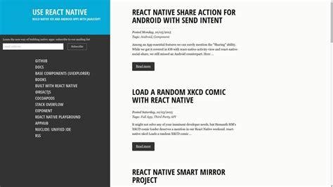 react native webview tutorial 10 frameworks for mobile hybrid apps