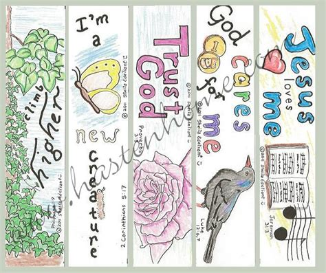 printable bible bookmarks to color 5 best images of bible printable bookmarks to color