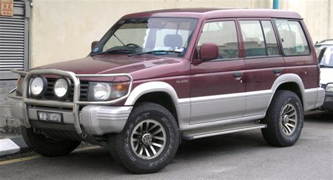 mitsubishi pajero modified file mitsubishi pajero second generation front