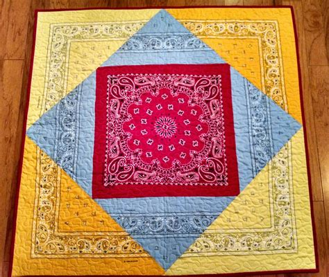 Bandana Quilt Patterns by Bandana Quilt For Your Lil Buckaroo