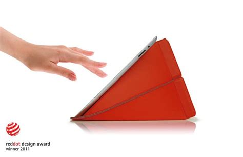 Origami Tablet - origami inspired smart stand protective sleeve gadgetsin
