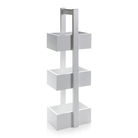 Wilko Free Standing Storage Unit 3 Tier White At Wilko Com Wilkinson Bathroom Storage