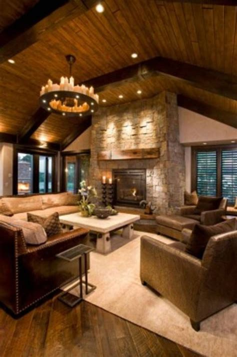 rustic ls for living room best 20 rustic living rooms ideas on