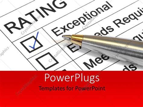 Powerpoint Template Performance Appraisal Customer Performance Appraisal Ppt Templates Free