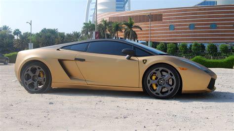 Gold Lamborghini Gallardo Lamborghini Gallardo In Gold Auto Car