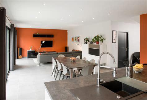 amenagement interieur salon salle a manger decoration cuisine ouverte sur salle a manger
