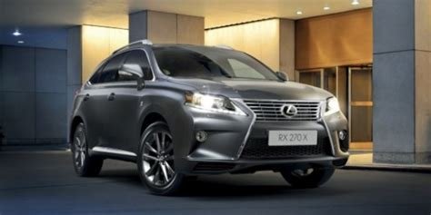 Headl Lexus Rx 270 Original special edition lexus rx 270 x launching in australia