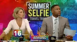 Live With Kelly And Michael Vacation Giveaway - michael strahan accidentally gives away a tropical vacation on live with kelly and