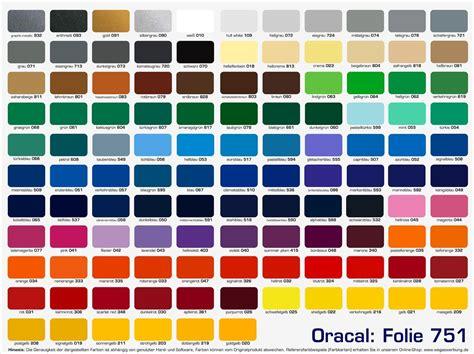 Autofolierung Farben by Oracal 751 C Y 252 Ksek Kalite Cast Folyo