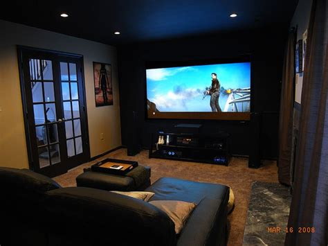 Small Home Theater Size Awesome Colour Scheme And Styling 1 Of 2 Home Theatre