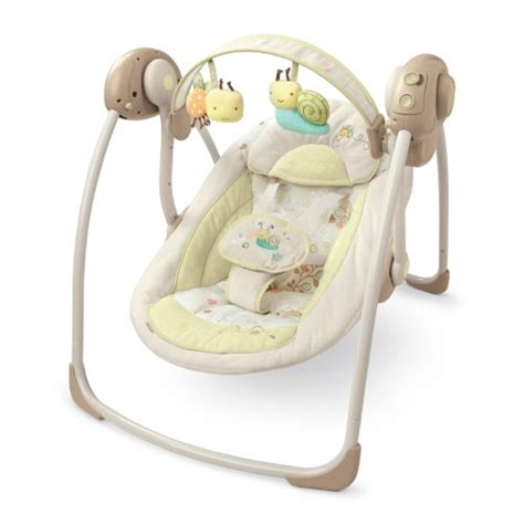 bright starts biscotti baby portable swing learn more about bright starts ingenuity portable swing
