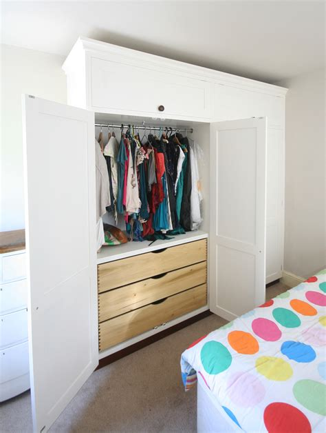Fitted Wardrobe Drawers by Bespoke Fitted Wardrobes With Drawers Enlargement 2