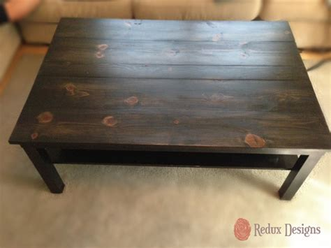 Refinishing Coffee Table Refinished Ikea Coffee Table Contemporary Miami By Redux Designs
