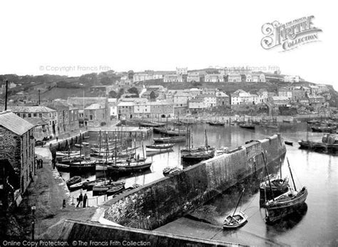a history of mevagissey books mevagissey harbour 1924 francis frith